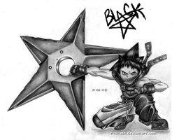 Black Star by kaejae15
