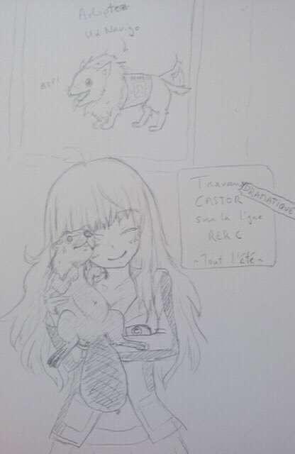 C-tan et les travaux castors by baka-saru-nickie