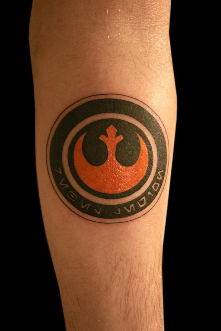 Rebel Alliance Star Wars Tattoo By Stormpod On Deviantart
