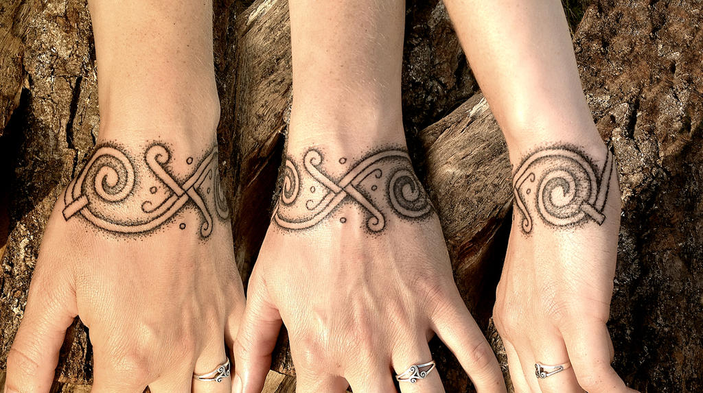 850479361 Hand poked tattoo from a Viking marked in Denmark by Stormpod on ...