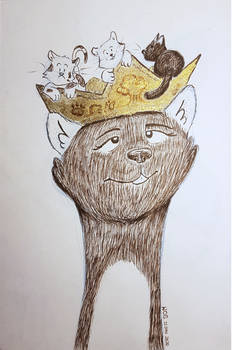 A Cat Crown for a Cat Crainn