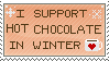 Hot chocolate - stamp by N0RV1C