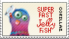 Superfast Jellyfish - Stamp by N0RV1C