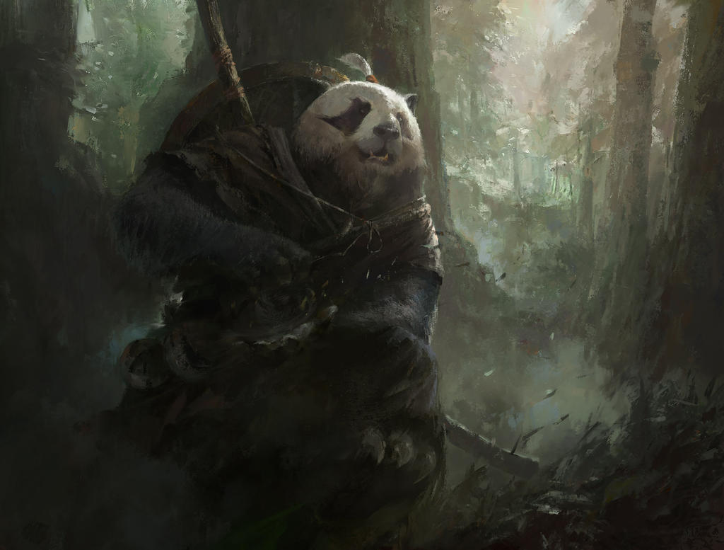 Panda By MazertYoung On DeviantArt
