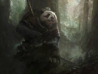 Panda by MazertYoung