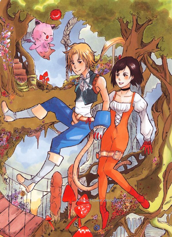 Final Fantasy IX : sweethearts by ArsenicFlower