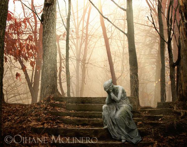 Autumn tears by Onyria