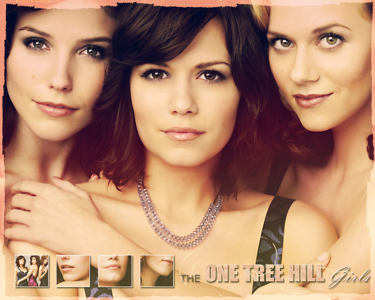 One Tree Hill girls by Re-Designed