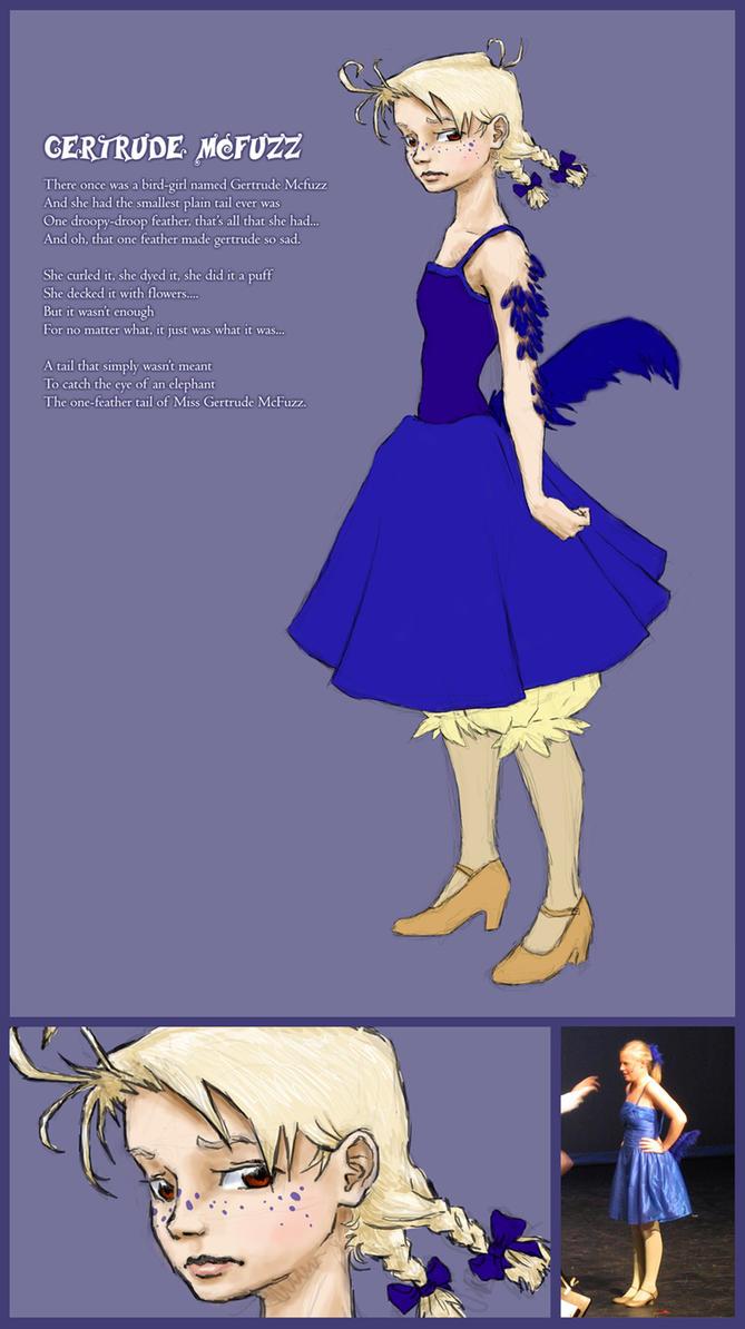 Gertrude McFuzz by winged-elf-girl ... & Gertrude McFuzz by winged-elf-girl on DeviantArt
