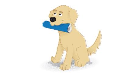 TTS Illustration Dog by elpetito