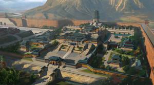Xiang guo temple design