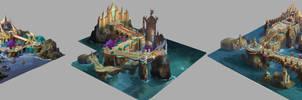 3 level design by dawnpu