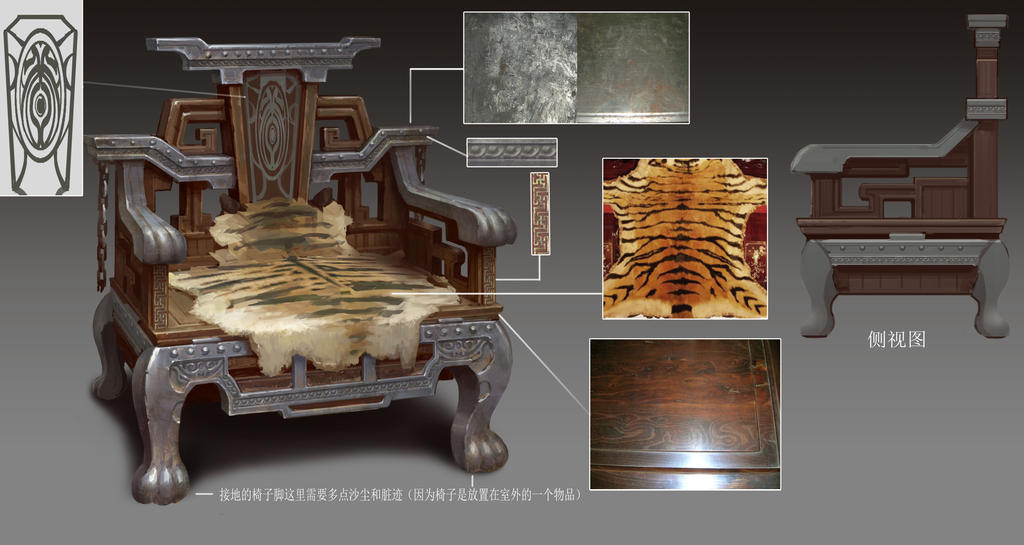 old object design chair in 2012 by dawnpu