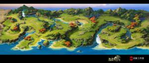 Dragon nest map1 by dawnpu