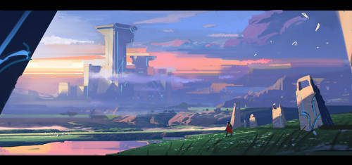2hours speedpainting just for fun by dawnpu