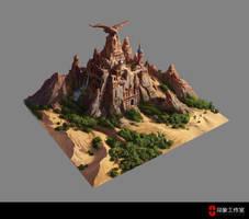 Eagle City design by dawnpu