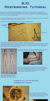 BJD Restringing Tutorial by kagen-no-tsuki