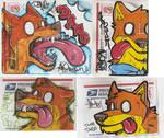 Dumb Dingo sticker ideas