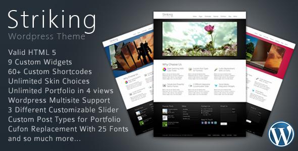 Striking Premium Template by m2-Designs