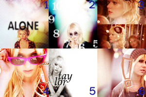 Taylor Momsen 6 icons by lore246