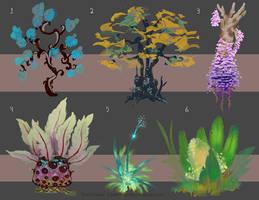 Plants by MrBlackCap
