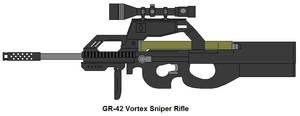 GR-42 Vortex Sniper by OminousBaltross