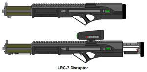 LRC-7 Disruptor by OminousBaltross