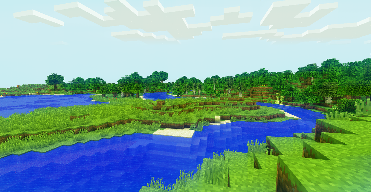 Popular Wallpaper Minecraft Plain - minecraft_plains_by_pachein-d4plj73  2018_905145.png