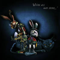 We're all mad here by AEValentine