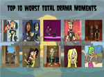 Top 10 Worst Total Drama Moments by air30002