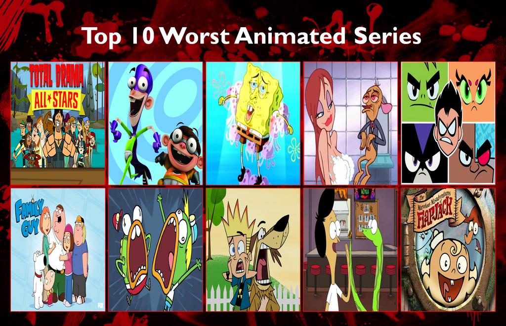 Best cartoon series of all time / Se7en movie envy