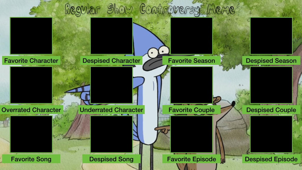regular show wallpaper rigby