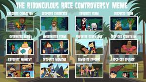 air30002's Ridonculous Race Controversy Meme