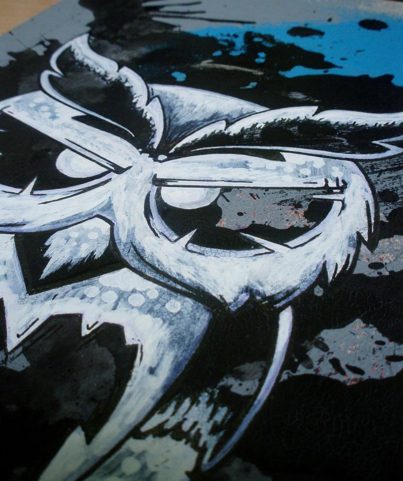 ink owl by VieglaUzvediba