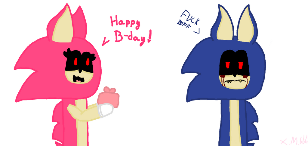 Happy b-day you bish by xmangle666