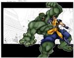 Hulk VS wolverine