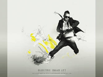 electric AQUA lift - wallpaper by yunyunsarang