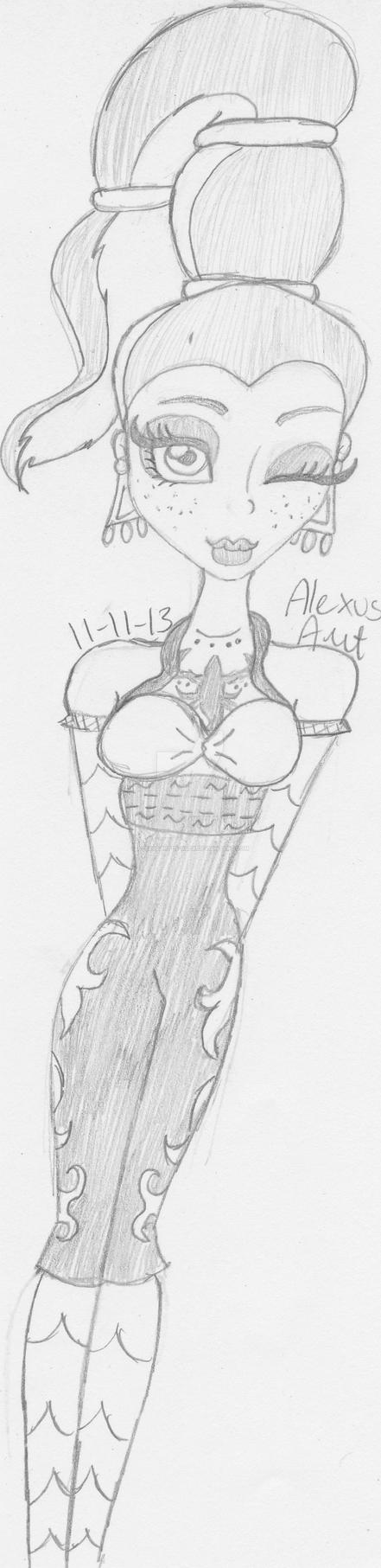Download Monster High: GiGi Grant FanArt by AlexusArt-is-back on DeviantArt
