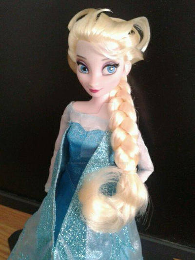 Elsa came in today! by AlexusArt-is-back