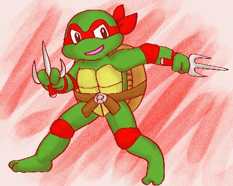 old toon Raphael by koju327