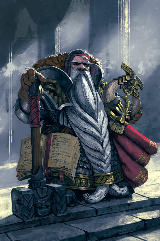 Dwarven King-final by DiegoGisbertLlorens