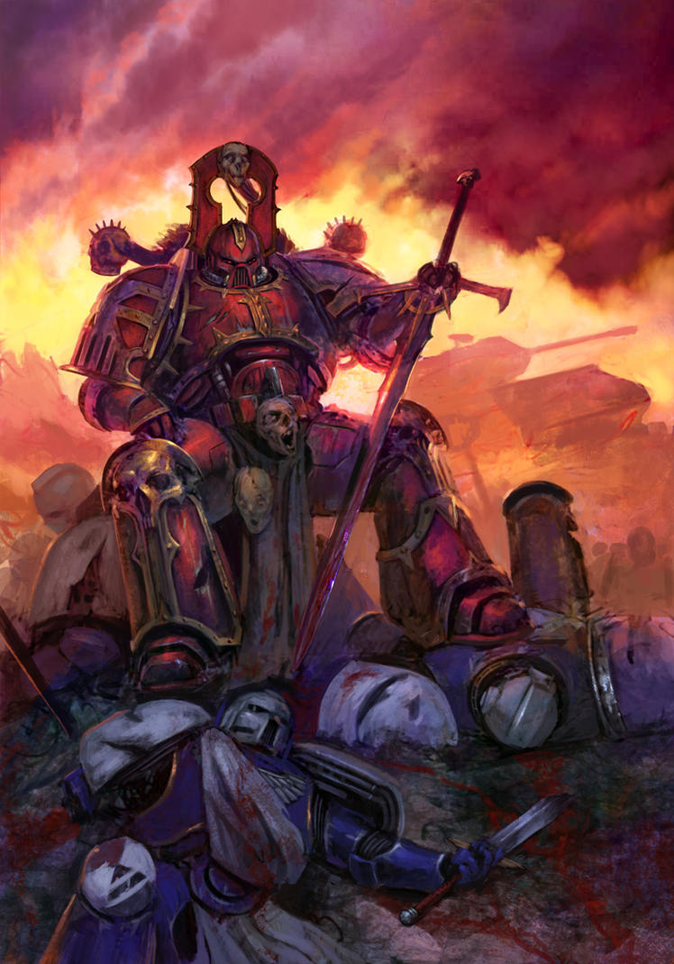 [W40K] Collection d'images : Space Marines du Chaos - Page 2 Legacyweapon_by_diegogisbertllorens-d5o48hz