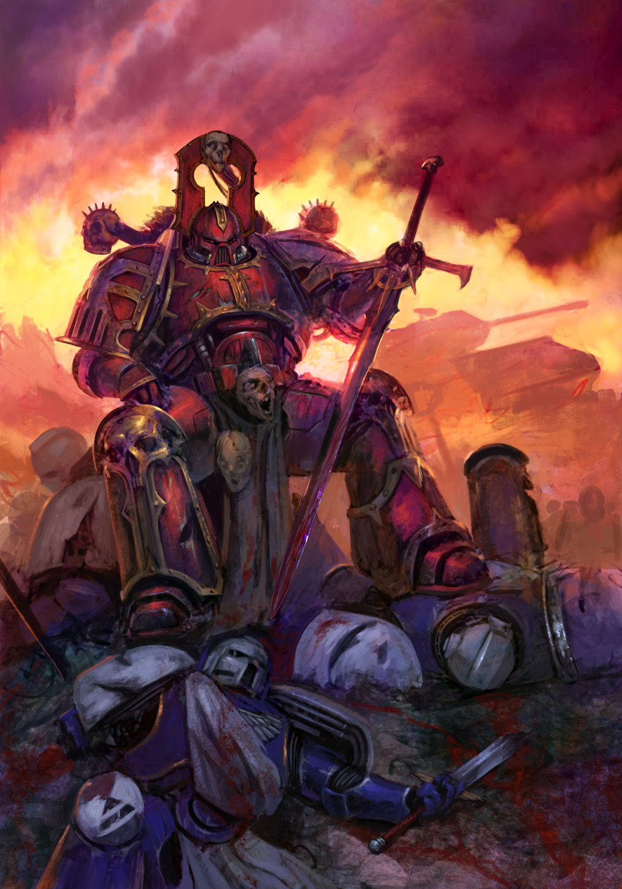 [W40K] Collection d'images : Space Marines du Chaos - Page 6 Legacyweapon_by_diegogisbertllorens-d5o48hz