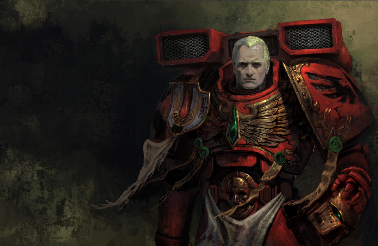 [W40K] Collection d'images : Space Marines Blood_angel_by_diegogisbertllorens-d5o6gb9