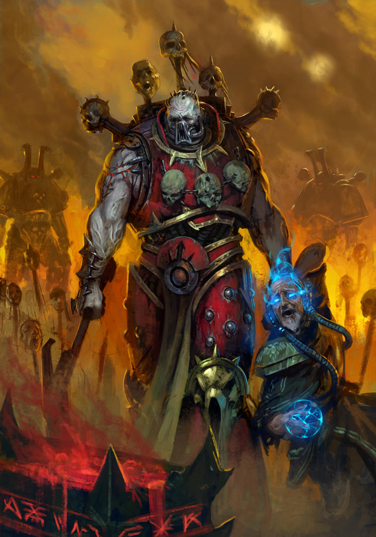 [W40K] Collections d'images diverses - Volume 2 - Page 2 One_more_skull_for_the_throne_by_diegogisbertllorens-d5p14fv