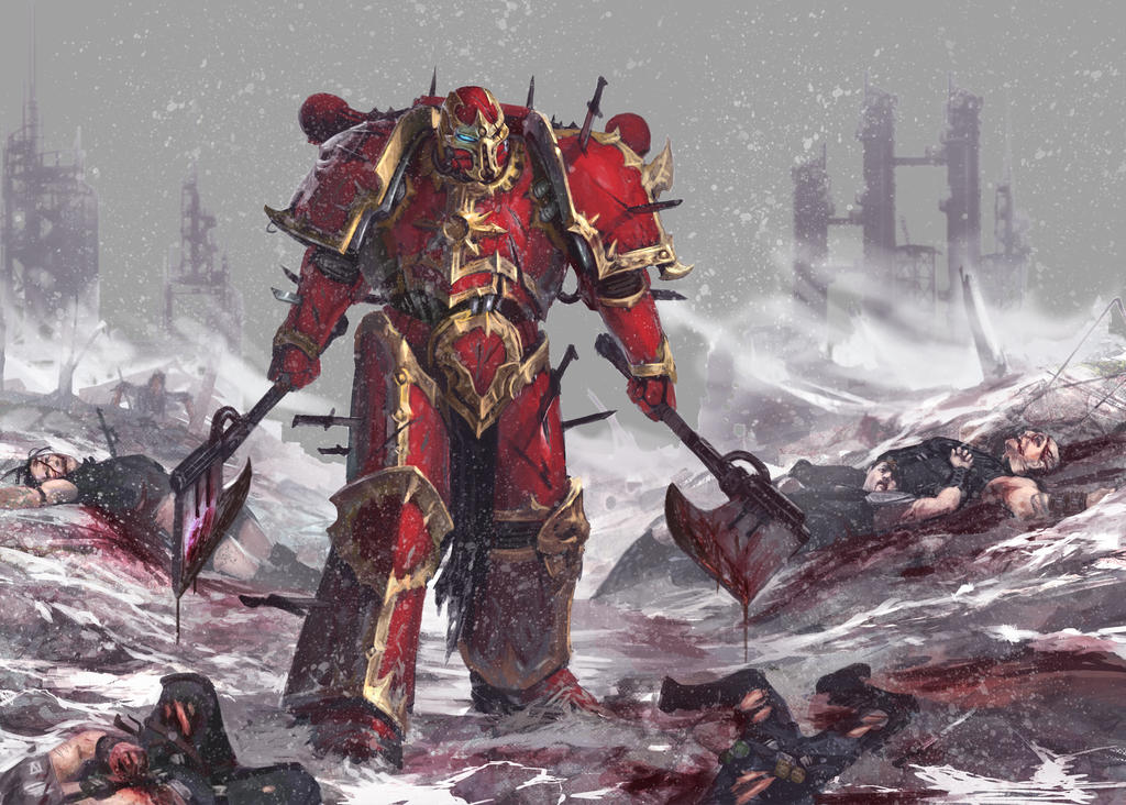 [W40K] Collection d'images : Space Marines du Chaos - Page 6 Destroyer_by_diegogisbertllorens-d6bbqun