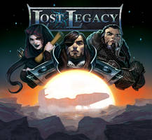 Lost Legacy-The Starship cover art