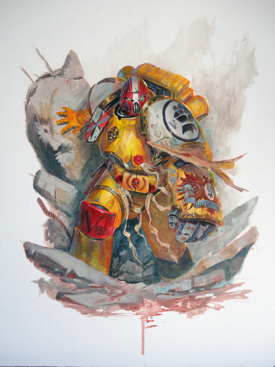 Imperial Fist-Acrylics