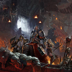 Warhammer Quest cover art