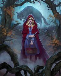 Little Red Riding Hood lvl1 by DiegoGisbertLlorens